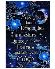 May you touch dragonflies 11x17 Poster front