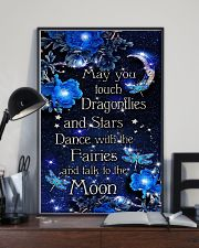 May you touch dragonflies 11x17 Poster lifestyle-poster-2
