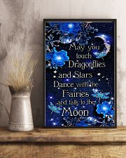 May you touch dragonflies 11x17 Poster lifestyle-poster-3