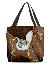 Autism mom All-over Tote front