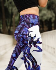 Hunting Deer High Waist Leggings aos-high-waist-leggings-lifestyle-11