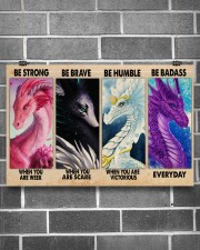 Be Strong 17x11 Poster aos-poster-landscape-17x11-lifestyle-18