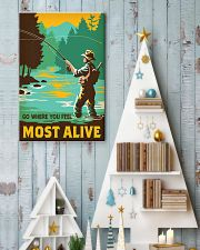Go where you feel most alive 11x17 Poster lifestyle-holiday-poster-2