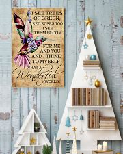 I see trees of green red roses too 11x17 Poster lifestyle-holiday-poster-2