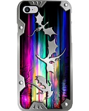Dragons Metal Pattern Print Phone Case i-phone-8-case