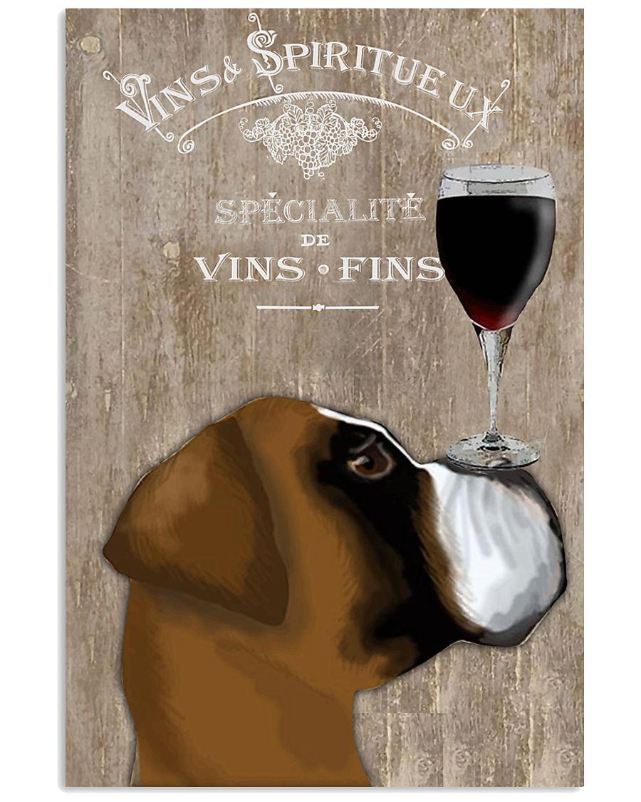 Dog Au Vin 11x17 Poster