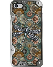 Dragonfly Metal Pattern Print  Phone Case i-phone-8-case