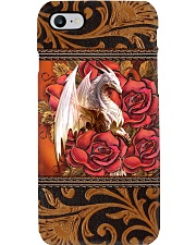 White dragon Phone Case i-phone-8-case