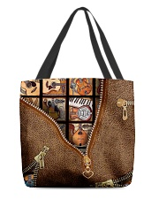 Guitars  All-over Tote front
