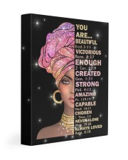God says you are 11x14 Gallery Wrapped Canvas Prints front