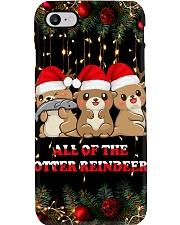 Otter reindeer Phone Case i-phone-8-case