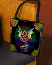 Dragon lovers All-over Tote aos-all-over-tote-lifestyle-front-02