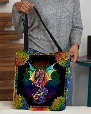 Dragon lovers All-over Tote aos-all-over-tote-lifestyle-front-10