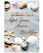Beach best escape anyone can have 11x17 Poster front