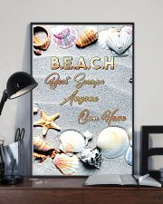 Beach best escape anyone can have 11x17 Poster lifestyle-poster-2