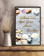 Beach best escape anyone can have 11x17 Poster lifestyle-poster-3