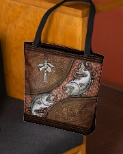 Love fishing All-over Tote aos-all-over-tote-lifestyle-front-02