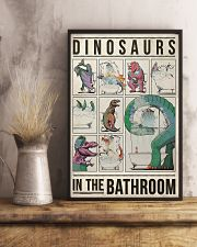 Dinosaurs In The Bathroom 11x17 Poster lifestyle-poster-3