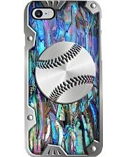 Baseball Metal Print Pattern Phone Case i-phone-8-case