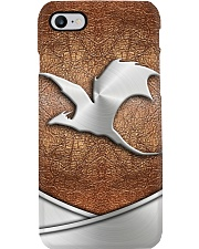 Dragon Metal Pattern Print  Phone Case i-phone-8-case