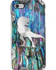 Dinosaur addiction metal print pattern Phone Case i-phone-8-case