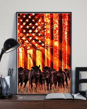 Cow sunshine Independence Day 11x17 Poster lifestyle-poster-2