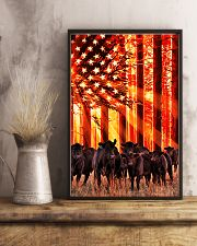 Cow sunshine Independence Day 11x17 Poster lifestyle-poster-3