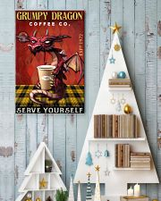 Grumpy dragon coffee co 11x17 Poster lifestyle-holiday-poster-2