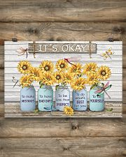 It's ok to make mistakes  17x11 Poster poster-landscape-17x11-lifestyle-14
