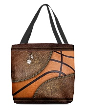 Love basketball All-over Tote back