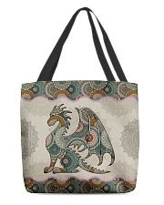Dragon lovers All-over Tote back