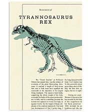 Restoration of tyrannosaurus rex 11x17 Poster front
