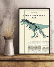 Restoration of tyrannosaurus rex 11x17 Poster lifestyle-poster-3