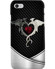 Dragon couple - Printed phone case Phone Case i-phone-8-case