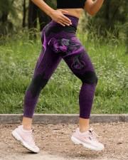 Vivid Purple Dragon High Waist Leggings aos-high-waist-leggings-lifestyle-15