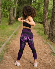 Vivid Purple Dragon High Waist Leggings aos-high-waist-leggings-lifestyle-17