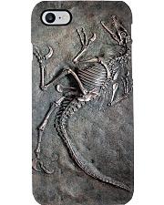 Dinosaur Fossil Metal Pattern Printed Phone Case i-phone-8-case