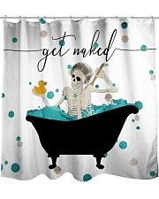 Get naked Shower Curtain front