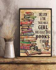Once upon the time there was a girl loved books 11x17 Poster lifestyle-poster-3