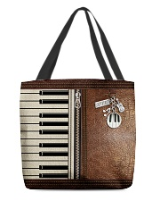 Keyboard tote leather pattern print  All-over Tote front