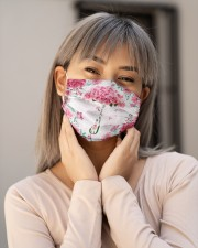 Never give up Cloth Face Mask - 3 Pack aos-face-mask-lifestyle-17