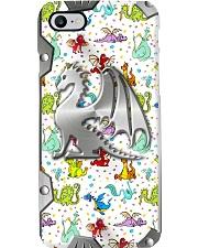 Cute dragons - Printed phone case Phone Case i-phone-8-case