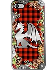 Xmas Vibes Metal Pattern Print  Phone Case i-phone-8-case