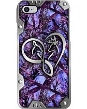 Buck And Doe Metal Pattern Print Phone Case i-phone-8-case