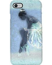 Ballerina Faux Print  Phone Case i-phone-8-case