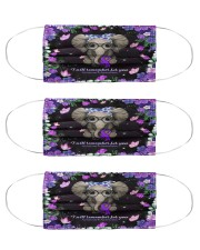 I will remember for you Cloth Face Mask - 3 Pack front