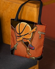Dabbing Basketball Leather pattern print  All-over Tote aos-all-over-tote-lifestyle-front-02