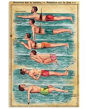 The swimmer French 11x17 Poster front