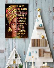 I am black strong 11x17 Poster lifestyle-holiday-poster-2