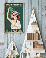Your feelings are valid 11x17 Poster lifestyle-holiday-poster-2